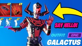 The Fortnite Galactus Skin Leaked (GAMEPLAY)