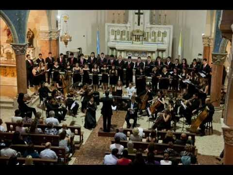 Coro ICAB Requiem de Fauré  06 12 2012