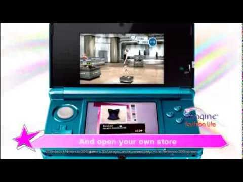 Imagine Fashion Life (3DS) Official Trailer
