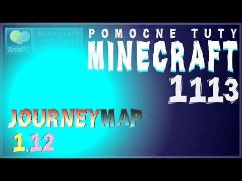 Journey Map 1.12 - Jak zainstalować mody - PL Instalacja moda do Minecraft 1.12