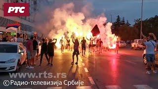RTS u Podgorici: Slavlje na ulicama crnogorske prestonice