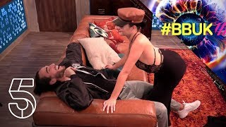 Anamelia's Sexy Lap Dance For Lewis F  | Big Brother 2018