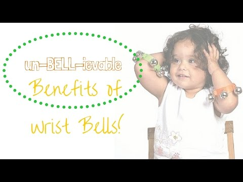 BENEFITS of WRIST BELLS for MUSIC TIME