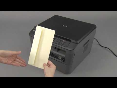 Load An Envelope Using The Manual Feed Slot | Brother MFCL2700DW