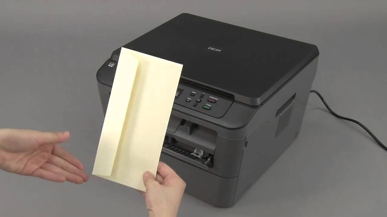 How to Load Envelopes into an Inkjet Printer photo
