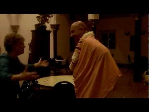 Surprise Send-Off Party for HH Bhaktimarga Swami (Toronto) - Sep 12, 2011