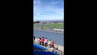200 Meters Fastest Totally Blind Athlete