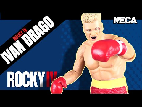 Toy Spot | NECA Rocky 40th Anniversary Rocky 4 Ivan Drago (Red Trunks) Figure