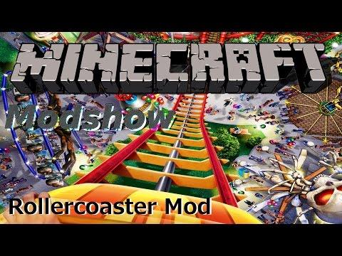 Rollercoaster Mod - Mods - Minecraft - CurseForge