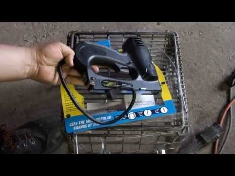 Harbor Freight 3 in 1 Electric Stapler