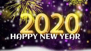New Happy New Year 2020 whatsapp status video gif wishes greetings best