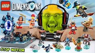 LEGO Dimensions Fun Packs Stop Motion Build & In-Game Fun! (Let