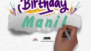 Happy Birthday Manik