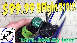 BFight 210 Updates to add a buzzer, a real flight test, and will it open a beer?  Wait, what???