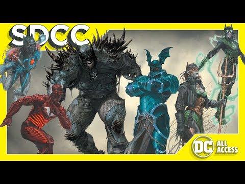 SDCC DAY 2 – Metal's Evil Batmen + Joker Meets Pennywise