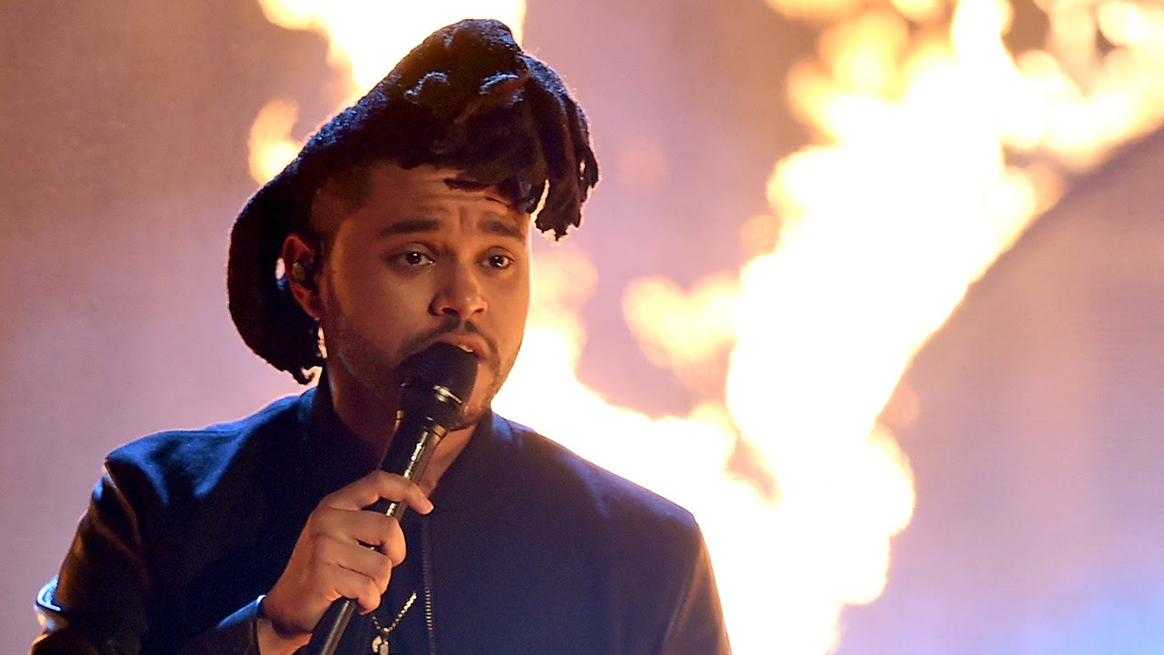 the weeknd fiery the hills performance 2015 amas youtube. Black Bedroom Furniture Sets. Home Design Ideas
