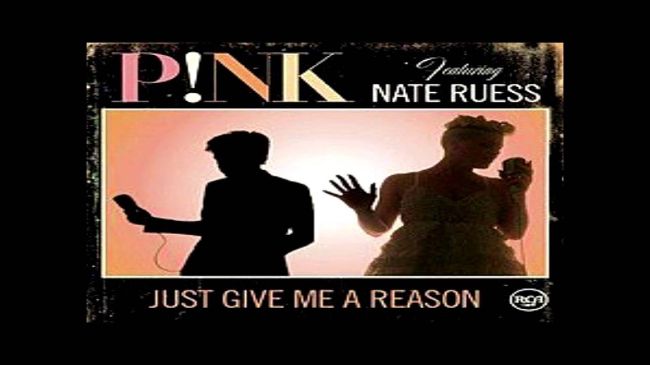 Pink - Just Give Me a Reason + Paroles (Lyrics) - YouTube