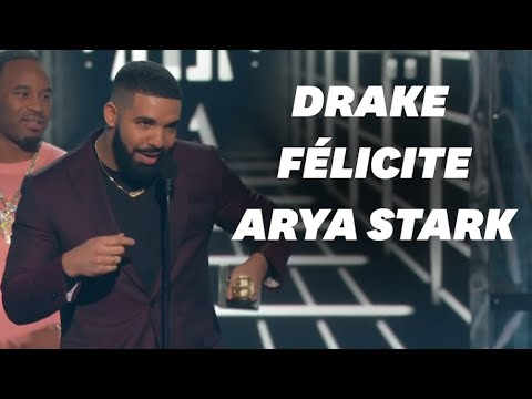 "Aux Billboard Music Awards, Drake spoile ""Game of Thrones"" Mp3"