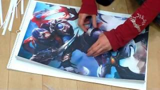 видео Постеры на заказ
