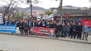 Bülent Ecevit Üniversitesi Ülkücüleri Fırat Yılmaz Çakıroğlu'nu andı 2018