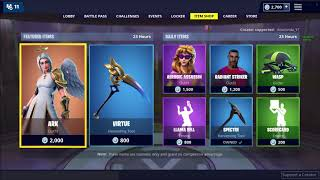 *NEW* ARK SKIN ANOTHER WINGS? DAILY ITEM SHOP 11TH JAN | Fortnite Battle Royale !