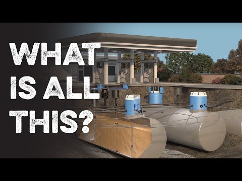 What Actually Happens Underground at a Gas Station?
