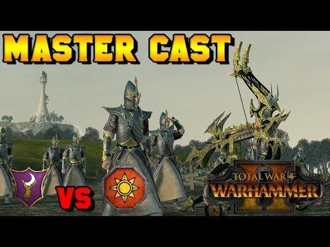 Master Cast: RomulanDawg (Dark Elves) vs. Lizardmen | Total War: Warhammer 2