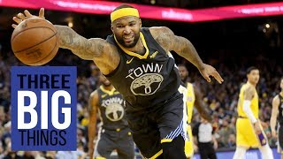 3 Big Things: Cousins' dunk ends Kyle Kuzma, Lakers' hopes for a win