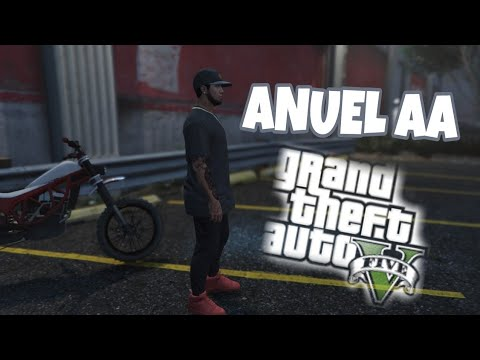 CONJUNTO Y MOTO DE ANUEL AA | GTA V |