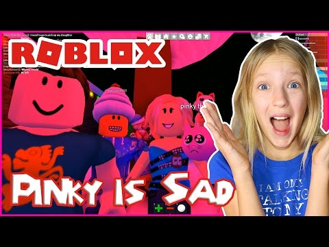 Party with Sad Pinky / Roblox Work at a Pizza Place