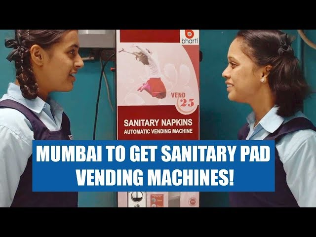 Mumbai to get sanitary pad vending machines!