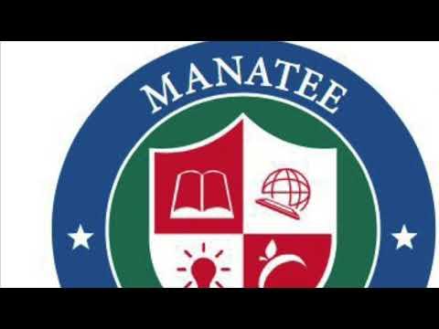 Manatee Charter School social Distance drop off procedure.
