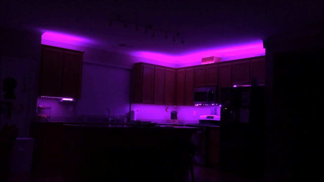 LED Strip Light for House and Anywhere - YouTube