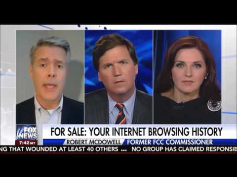Tucker Carlson : Congress Votes to Repeal Internet Privacy Protection 3/29/17