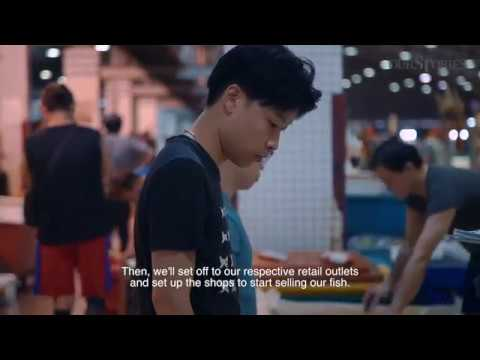 A Fishmonger Starts Work Just When Most Will Call It A Night | Before 10am | The Straits Times