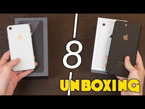 iPhone 8 e 8 Plus - UNBOXING & Prime Impressioni!