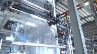LDPE film blowing machine