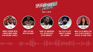 SPEAK FOR YOURSELF Audio Podcast (7.4.19) with Marcellus Wiley, Jason Whitlock | SPEAK FOR YOURSELF