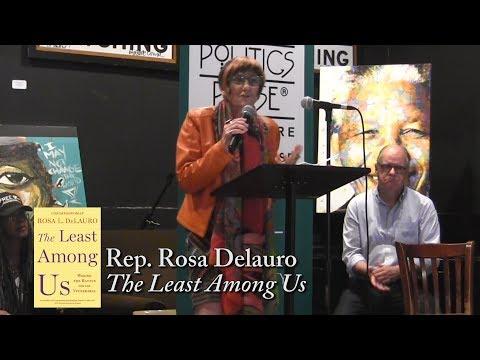 """Rosa DeLauro, """"The Least Among Us"""" (feat. Elizabeth Warren & Nancy Pelosi)"""
