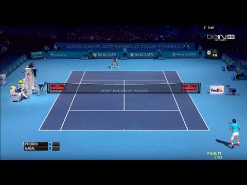[ HD ] Roger Federer vs Rafael Nadal Practice Court | ATP World Tour Finals 2017 - 3D Animation
