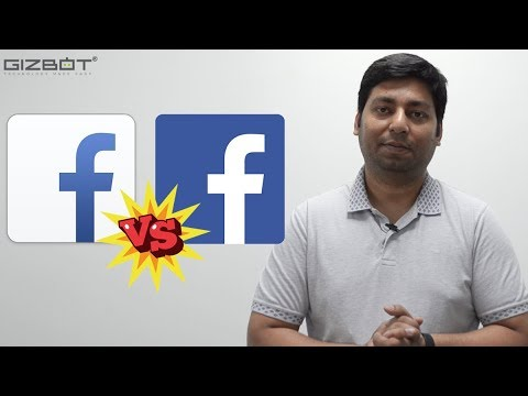 What is the difference between Facebook and Facebook Lite? (Hindi)