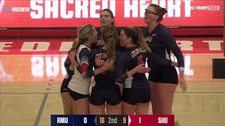 RMU vs SHU- Volleyball Highlights