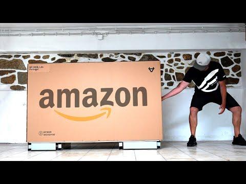 COMPREI UMA MOTA na Amazon 😱 CHEGOU em 24H