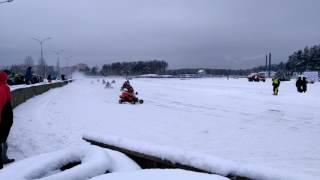 Зимний картинг на боровой ( стадион Заря)