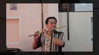 Sáo trúc: CHIẾC ÁO BÀ BA - Sáo trúc Nsut Đinh Linh || Bản Live hay nhất