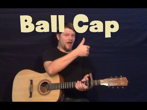 Ball Cap (Dylan Scott) Easy Guitar Lesson How to Play Tutorial - YouTube