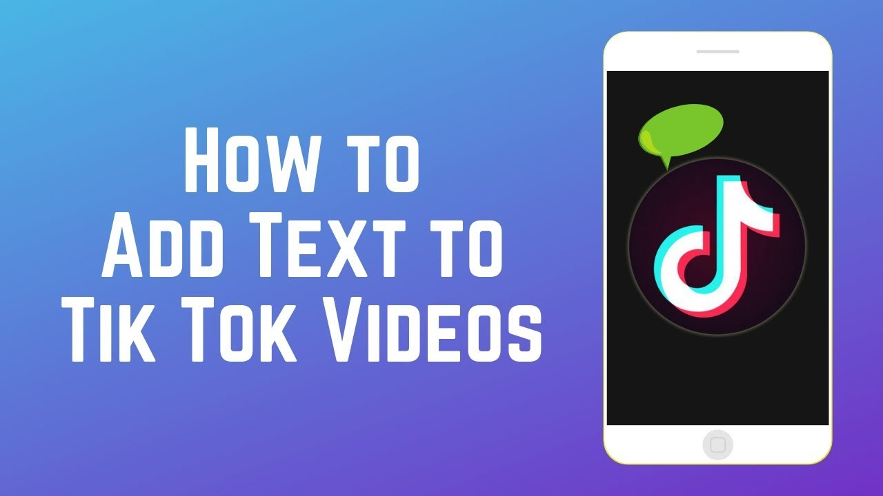 how to add text to your tik tok videos new tik tok feature 2019 live video videos #1