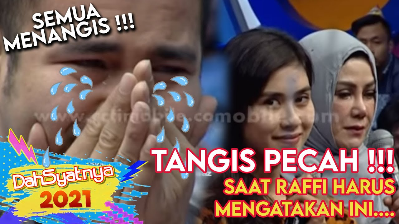 Download Raffi nangis saat mengucapkan do'a ulang tahun untuk Syahnaz [Dahsyat] [30 Okt 2015]