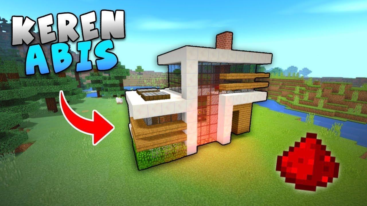 Cara Membuat Rumah Modern Gampang Untuk Survival Minecraft