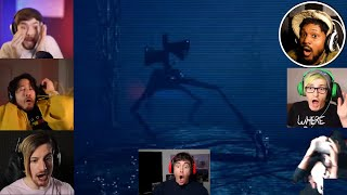 Gamers React to Siren Head Jumpscare Ending!